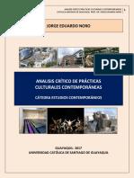 336. ANALISIS CRITICO DE PRACTICAS CULTURALES CONTEMPORANEAS