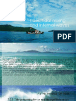 Tides, Tidal Mixing, And Internal Waves