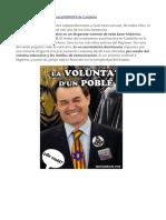 El Proceso Secesionista Cataluña