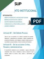 REGLAMENTO INSTITUCIONAL TECSUP