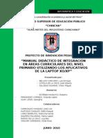 Proyecto - manualdidactico