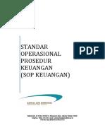 Standar Operasional Prosedur Keuangan SOP Keuangan