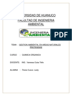 Gestion Ambiental en Areas Naturales Protegidas