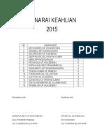 SENARAI KEAHLIAN