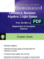 Boolean Algebra, Logic Gates - Prof. Sin-Min Lee