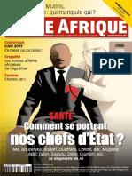 Jeune Afrique 13 Au 26 Aout 2017