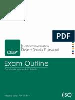 cissp-cib-Blueprint from ISC.pdf