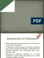 E Business (Aniket)