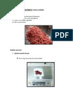 ANÁLISIS FÍSICO Quimico de Carne Molida Lu