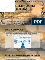 Call Center Agent (Stress) Practical 4