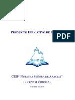 Proyecto Educativo de Centro Definitivo m 14-11-16