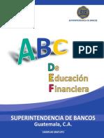 ABC de Educación Financiera SIB Guatemala.