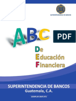 ABC de Educación Financiera SIB Guatemala.