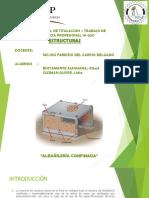 Albañileria Confinada Diapositivas