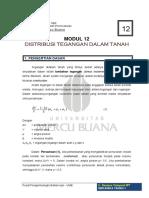 Modul 12 Mektan i Distribusi Tegangan