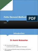 FEM Lecture 1