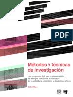 Métodos y técnicas de investigación en arquitectura y urbanismo