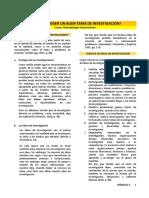 Lectura - ¿Cómo escoger un buen tema de investigación.pdf
