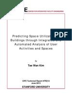 Predicting Space Utilization Of