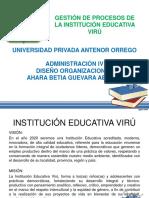 DISEÑO ORGANIZACIONAL - UPAO