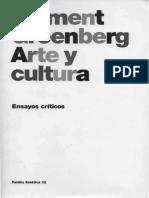 GREENBERG, Arte y cultura.pdf