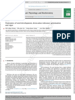 Proteomics of Seed Development, Desiccation Tolerance, Germination