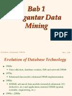 Bab 01 - Pengenalan Data Mining