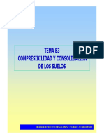 Tema b3- Compresibilidad de Los Suelos 2013-14