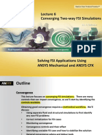CFX FSI 14.5 CFX FSI_Two_Way_Convergence Two-way FSI Simulations 39