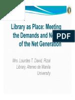 14 David Lib as Place
