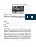 Police Undergraduate Voluntary Corps