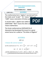 8th Term 2 Mathematics