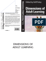 Griff Foley_Dimensions of Adult Learning
