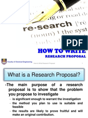Proposal Writing | Sedimentary Rock | Literature Review
