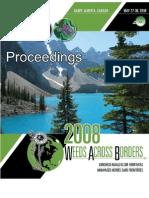 2008 Weeds Across Borders