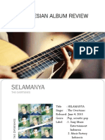 Indonesian Album Review
