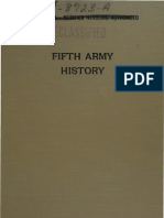 WWII 5th Army History I
