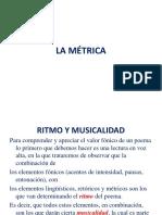 6. Ritmo y musicalidad. C+¦mputo m+σtrico