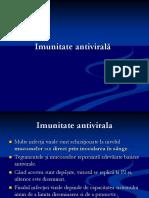 Imunitate antivirala