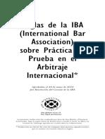Reglas Iba Arbitraje