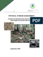 Physical Stream Assessment 0