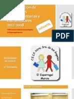 PROGRAMACIÓN ACTIVIDADES COMPLEMENTARIAS Y EXTRAESCOLARES DE INFANTIL