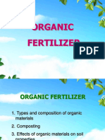 6 Organic Fertilizer