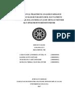 Jurnal Awal P Anfar_Penetapan Kadar PCT Dan Natrium Diklofenak_Kelompok 8_Golongan I