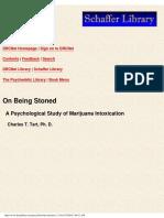 On Being Stoned - Psychological Study of Marijuana Intoxication.pdf