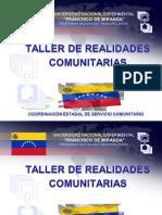 Taller de realidades comunitarias-1.odp