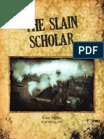 Slain Scholar Final Web Eng Compressed CORRETTO QUADRO