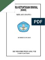 KKM-Kelas-1