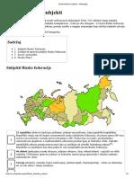 Ruski Federalni Subjekti – Wikipedija