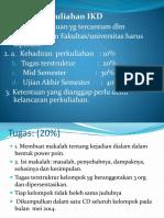 Ikd 1 Kontrak Kuliah Pendahuluan